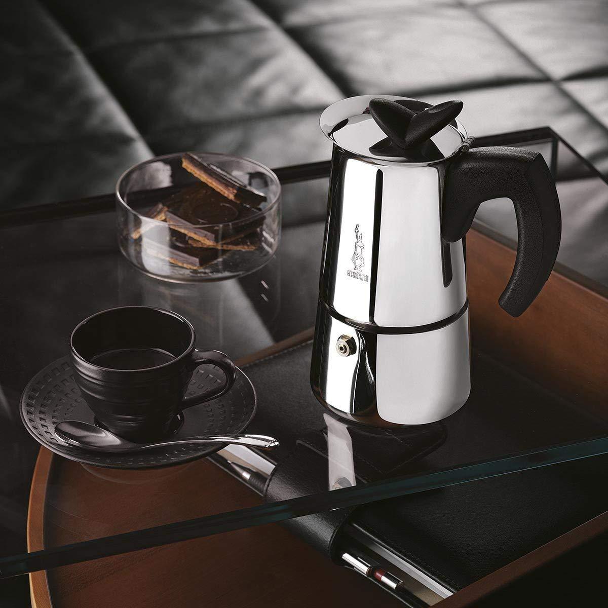Musa Espressokocher Edelstahl