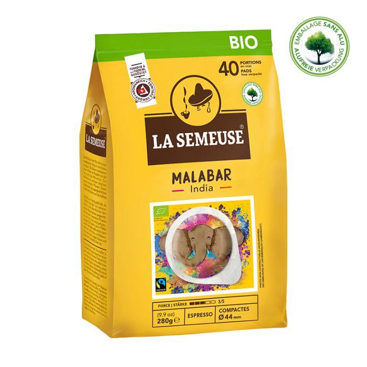 Bio India Malabar | 40 Portionen | 44mm