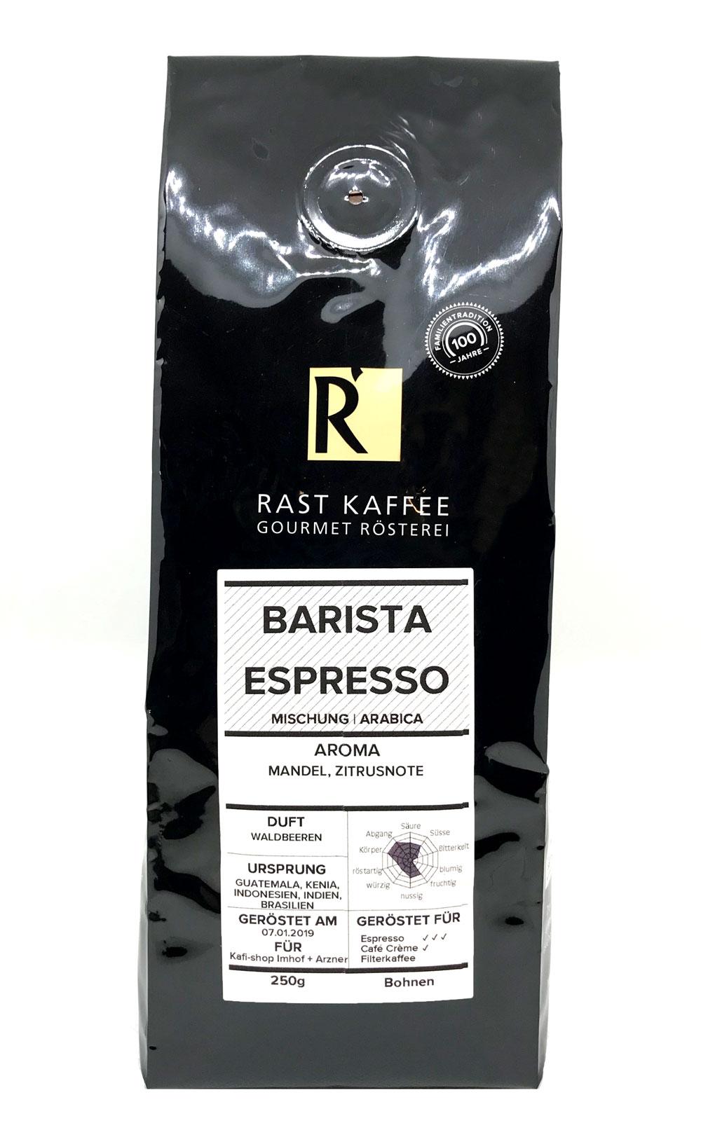 Barista Espresso 250g