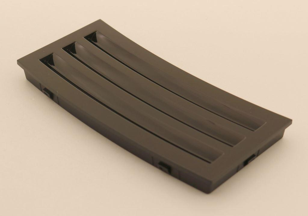 Abdeckung Bohnendeckel schwarz