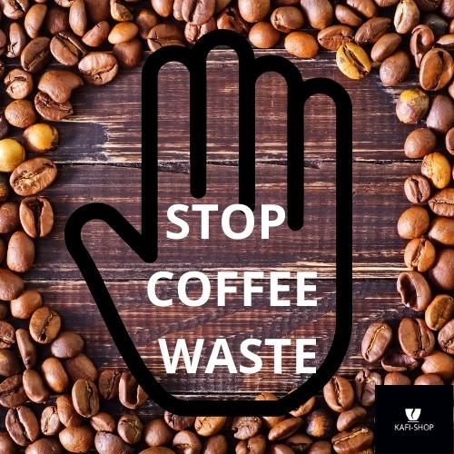 """STOP COFFEE WASTE"" - Paket"