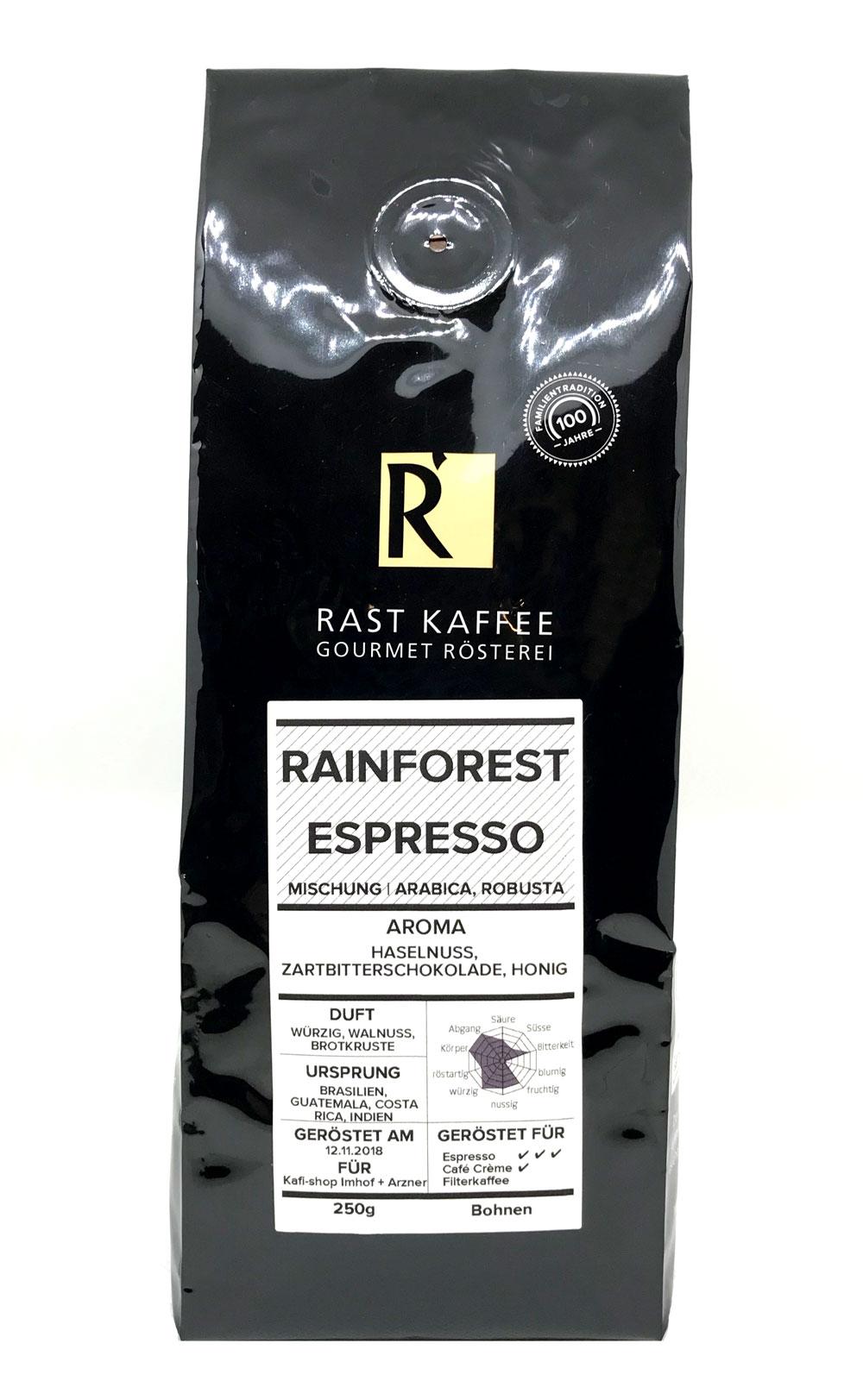 Rainforest Espresso 250g