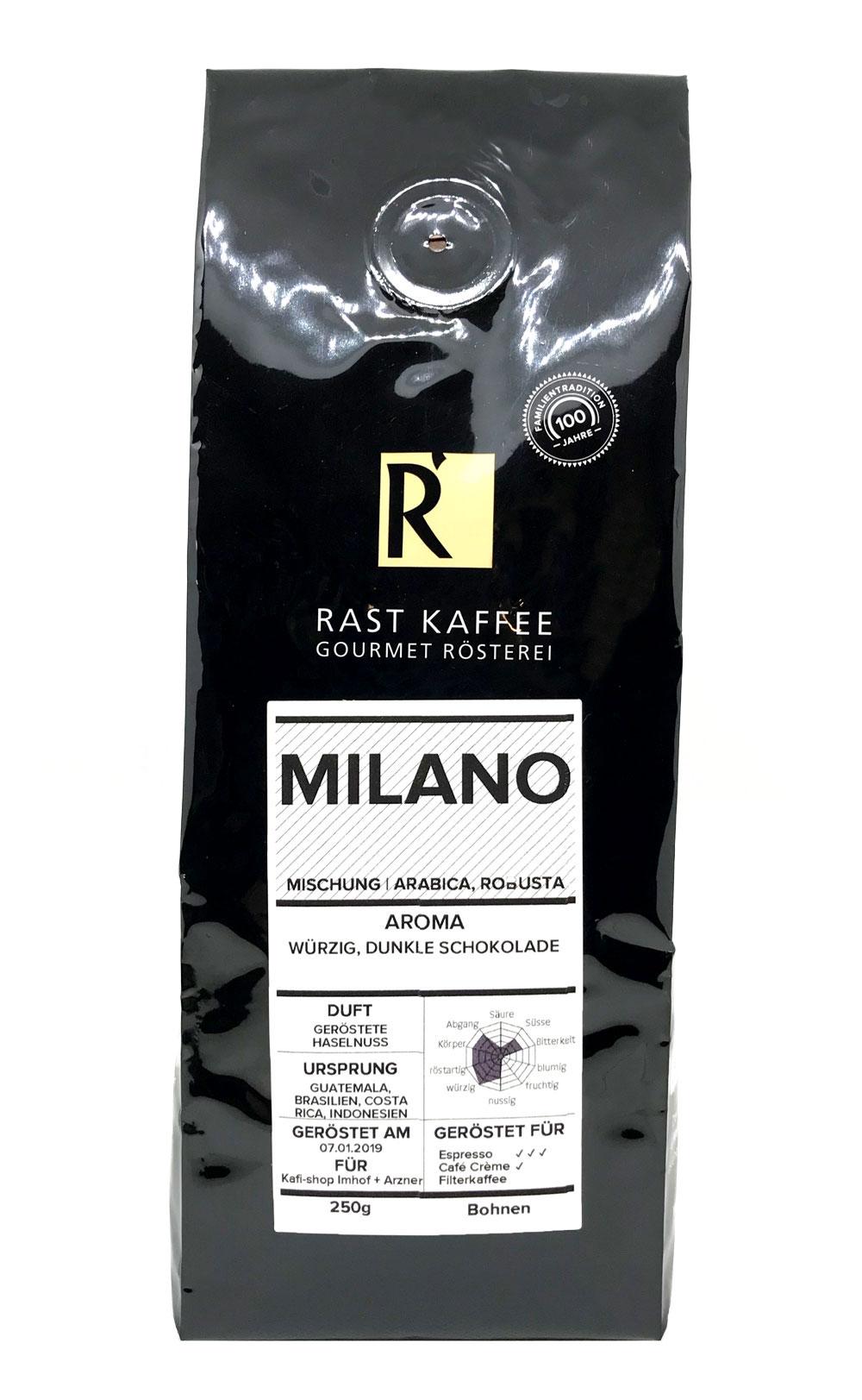 Kaffee Milano 250g