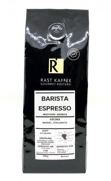Rast Kaffee Barista Espresso 250g