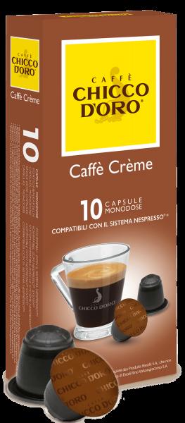 CHICCO D'ORO | Caffe Creme | 10 Kapseln