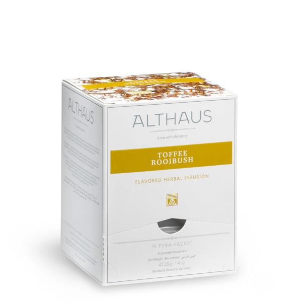 ALTHAUS Toffee Rooibush 15 Beutel