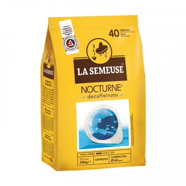 La Semeuse NOTCURNE Decaf | 40 Pads lose | 44mm
