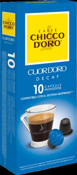 CHICCO D'ORO | Cuor d'Oro | 10 Kapseln