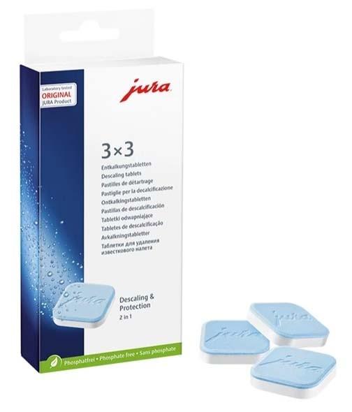 JURA 2-Phasen-Entkalkungstabletten