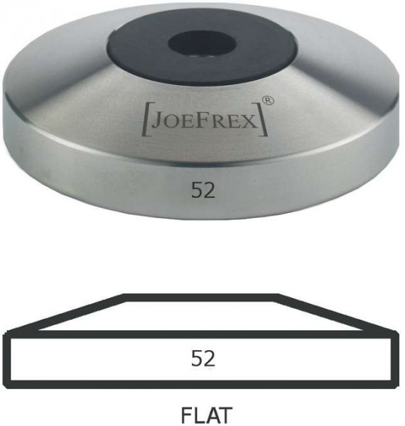 Joe Frex Tamper Unterteil Base Flat 52 mm