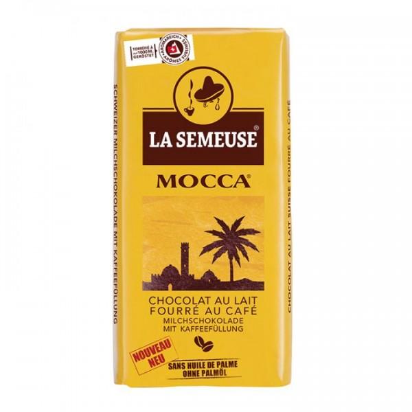 La Semeuse Milchschokolade mit Kaffeefüllung